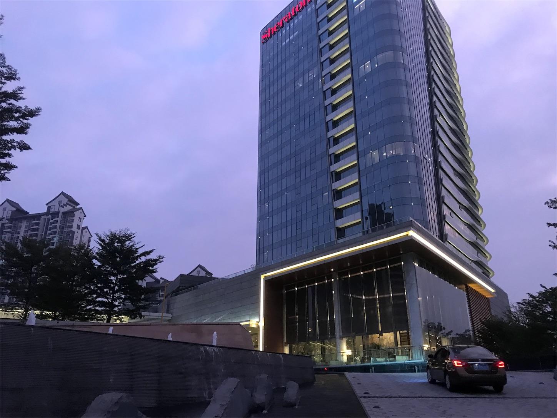 中国のシェラトン広州南沙ホテルはとてもキレイで朝ごはんは美味しい!