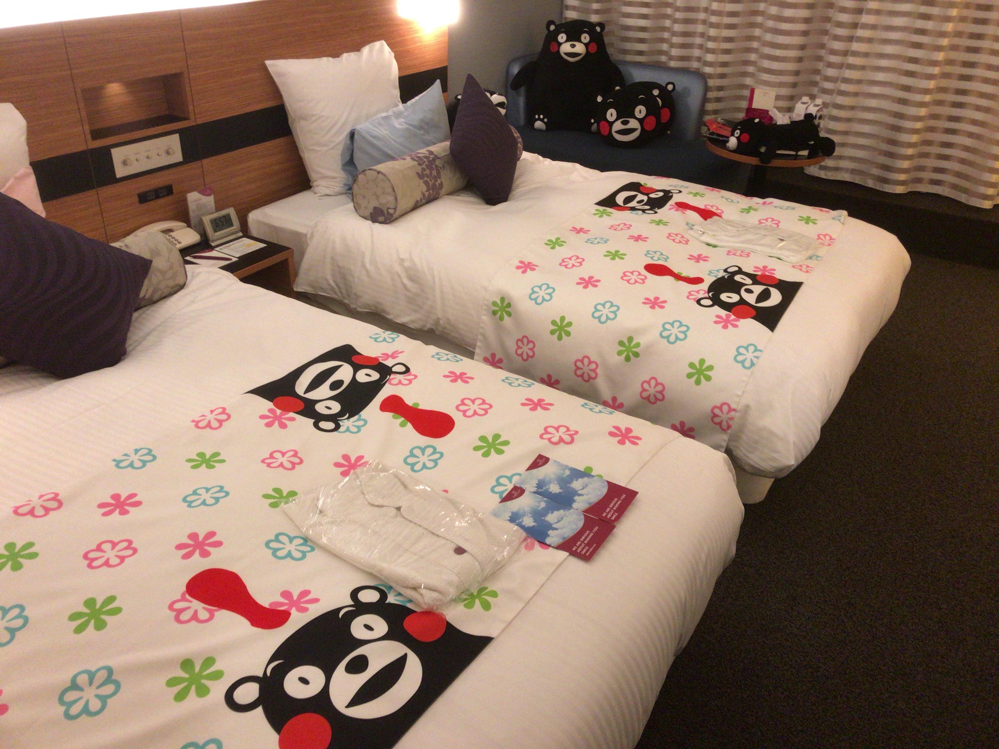 ANAクラウンプラザ熊本ニュースカイ滞在記