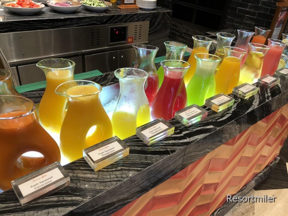 インターコンチネンタルバリリゾート「タマンギタテラス」の朝食