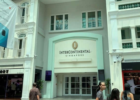 インターコンチネンタルシンガポールの宿泊記。子連れに勧める理由とは?